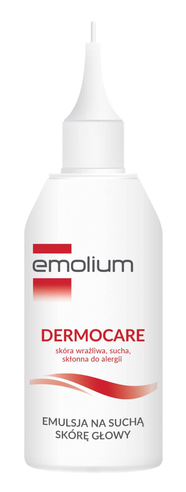 EMOLIUM DERMOCARE Emulsja na suchą skórę głowy 100ml