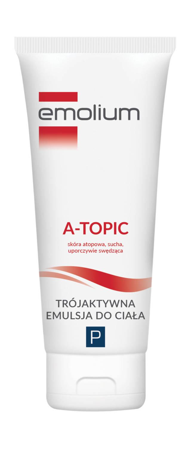 EMOLIUM A-TOPIC Trójaktywna emulsja do ciała 200 ml