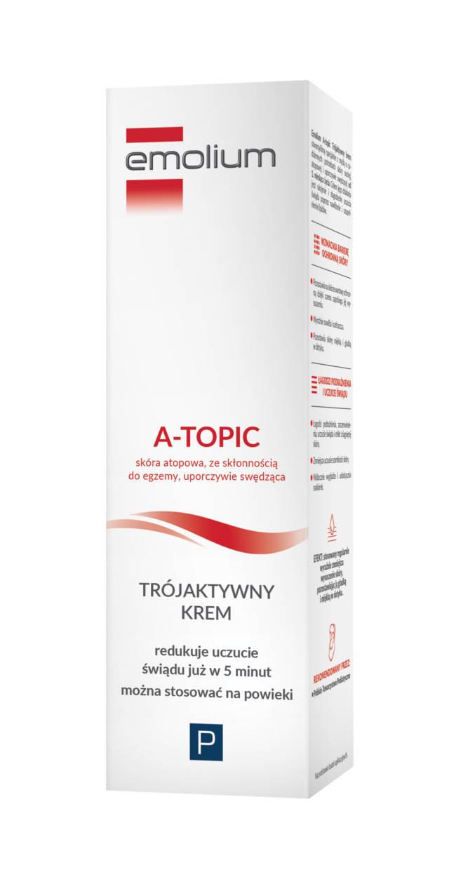 EMOLIUM A-TOPIC Trójaktywny krem 50ml
