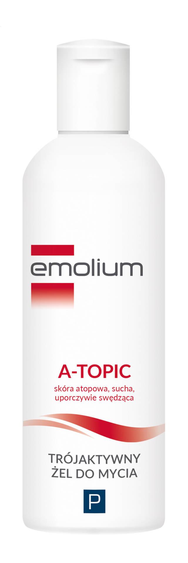 EMOLIUM A-TOPIC Trójaktywny żel do mycia 200ml