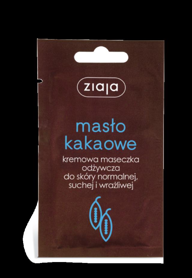 ZIAJA MASŁO KAKAOWE Kremowa maseczka odżywcza do skóry normalnej suchej i wrażliwej 7ml