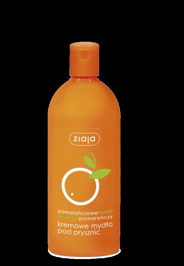 ZIAJA POMARAŃCZOWA Kremowe mydło pod prysznic 500ml