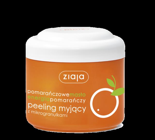ZIAJA POMARAŃCZOWA Peeling myjący średnioziarnisty 200ml