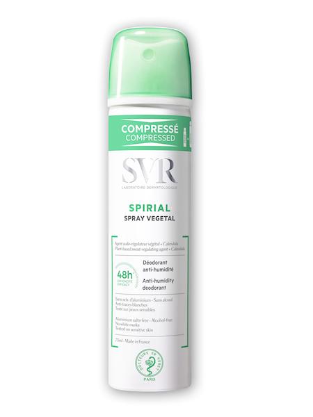 SVR SPIRIAL SPRAY VEGETAL Dezodorant bez soli glinu w sprayu 75ml