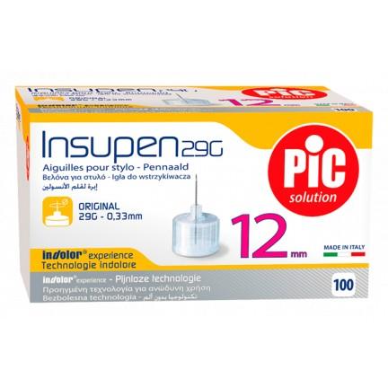PIC Insupen Igły do penów insulinowych Original 100szt.