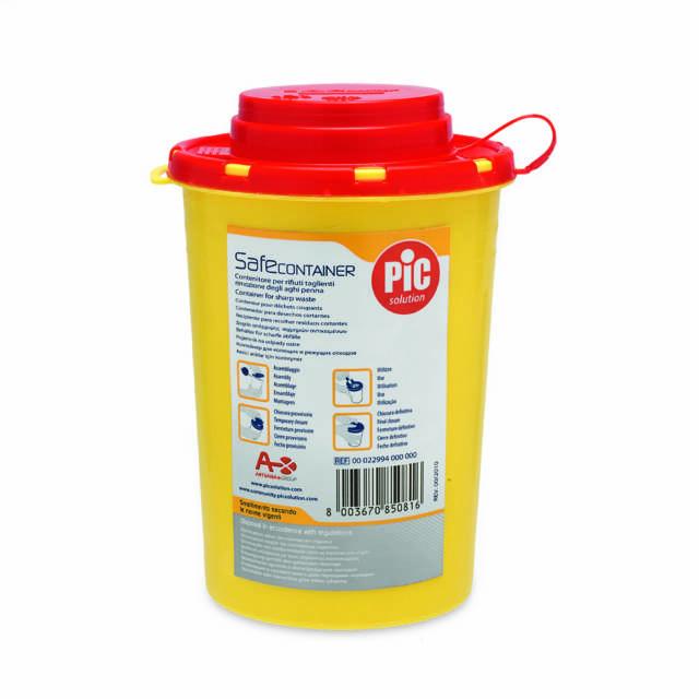PIC SafeContainer bezpieczny pojemnik na igły 0,6l