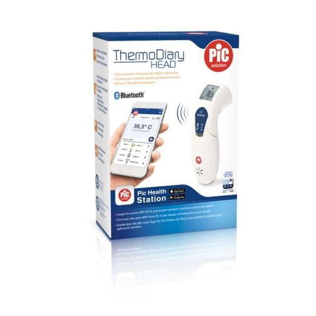 PIC Termometr na podczerwień z funkcją Bluetooth Thermo Diary Head