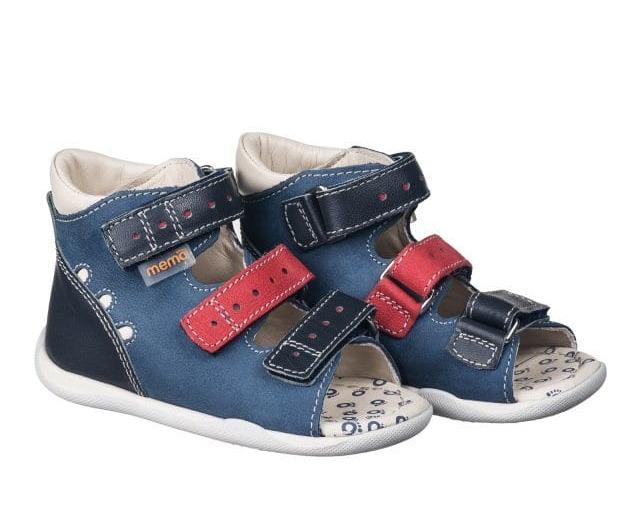 MEMO Sandałki profilaktyczno- korekcyjne DINO 1DA