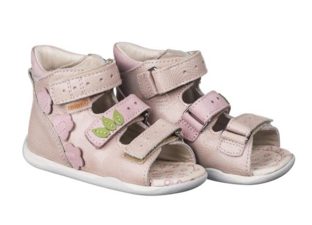 MEMO Baby Sandałki profilaktyczno- korekcyjne DINO 1JB