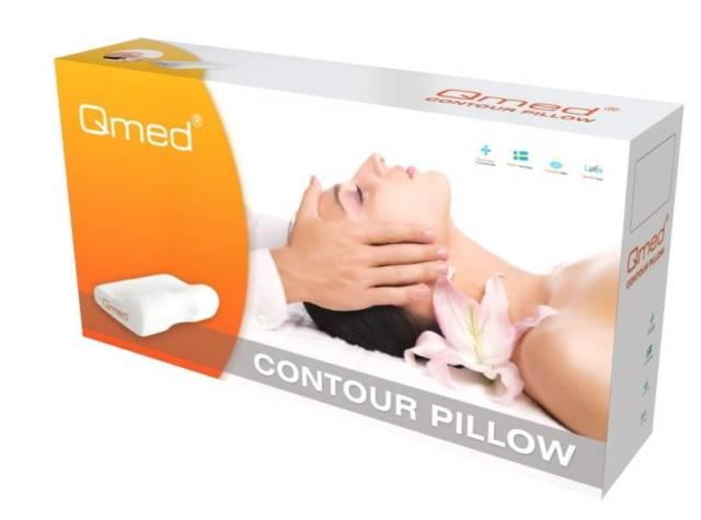QMED CONTOUR PILLOW Poduszka profilowana do snu
