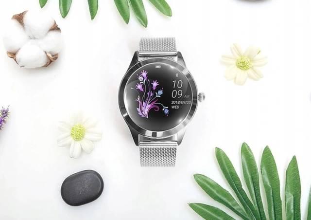OROMED Wielofunkcyjny zegarek dla kobiet SMARTWATCH LADY SILVER