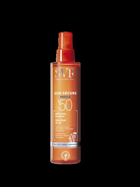 SVR SUN SECURE HUILE SECHE Suchy olejek ochronny SPF50 do twarzy, ciała i włosów 200ml