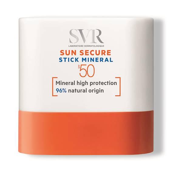 SVR SUN SECURE STICK MINERAL SPF50 Mineralny sztyft ochronny 10ml
