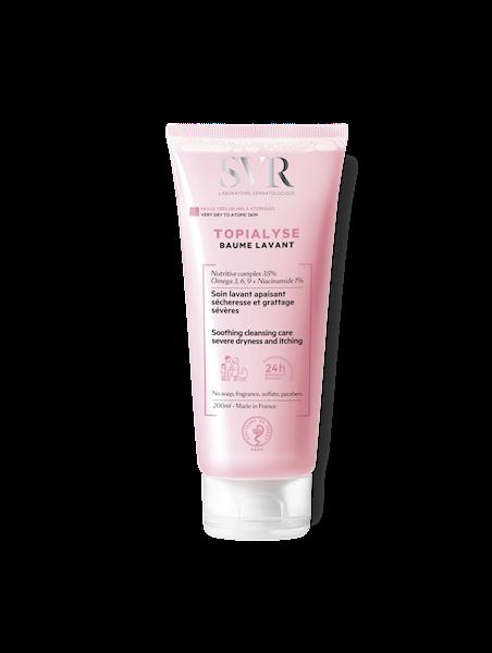 SVR TOPIALYSE BAUME LAVANTE Odżywczy balsam do mycia skóry bardzo suchej i atopowej
