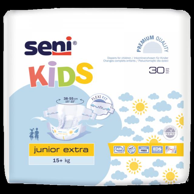 SENI Pieluchomajtki dla dzieci Kids Junior Extra