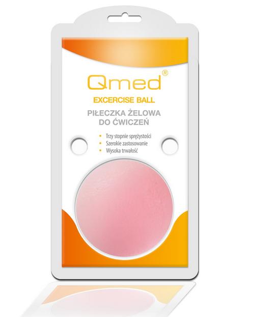 QMED Żelowa piłeczka rehabilitacyjna