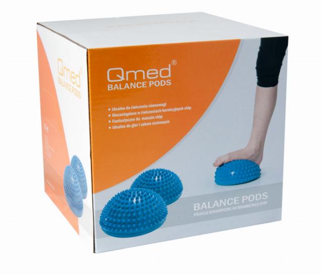 QMED BALANCE PODS Półkule sensoryczne