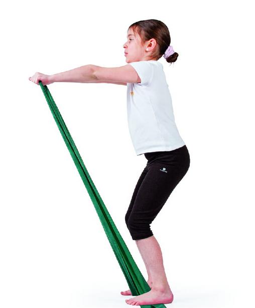 QMED EXERCISE BAND Taśma rehabilitacyjna