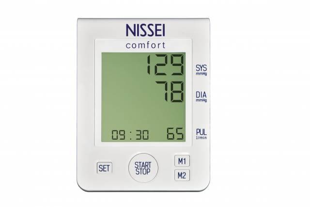 NISSEI Ciśnieniomierz automatyczny Comfort z zasilaczem
