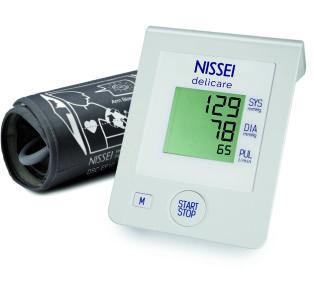 NISSEI Ciśnieniomierz automatyczny Delicare z zasilaczem