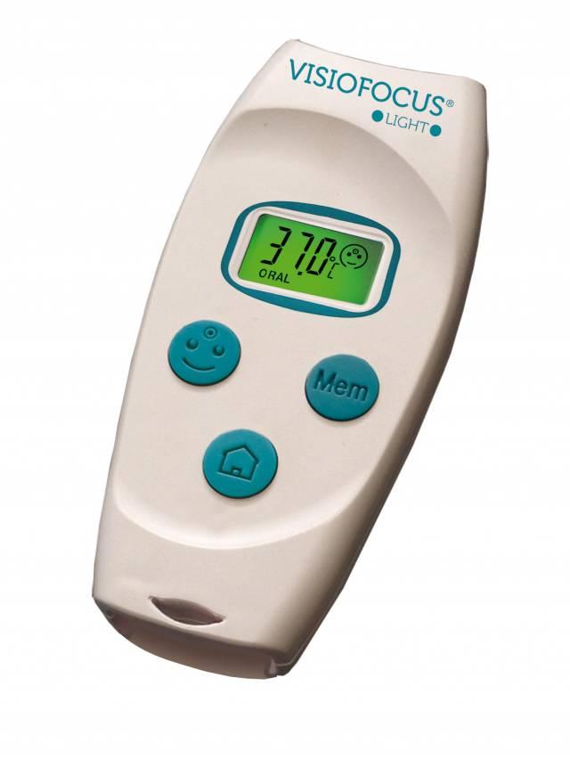 TECNIMED Termometr bezdotykowy z etui VISIOFOCUS LIGHT® 06710