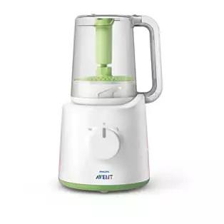 AVENT Urządzenie do przygotowywania jedzenia dla dzieci- parowar i blender 2 w 1 SCF870/22