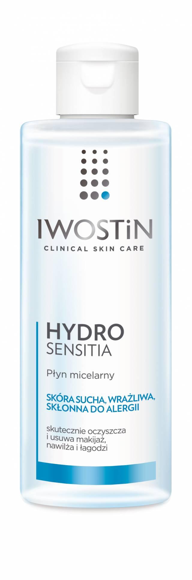IWOSTIN HYDRO SENSITIA Micelarny liquid do skóry suchej 215m