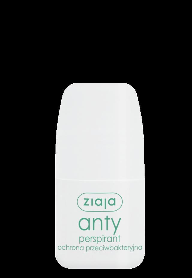 ZIAJA ANTYPERSPIRANTY Anty-perspirant antybakteryjny 60ml