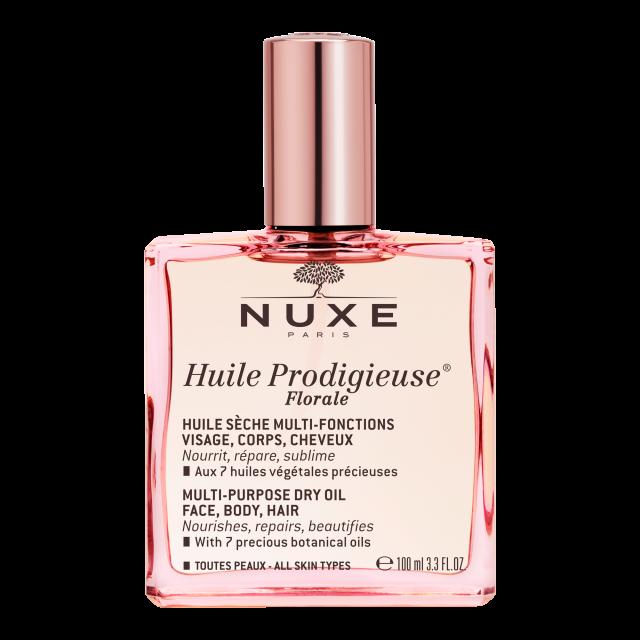 NUXE Huile Prodigieuse Florale Suchy olejek rozświetlający 100ml + Prodigieux Mleczko do ciała 100 ml w PREZENCIE