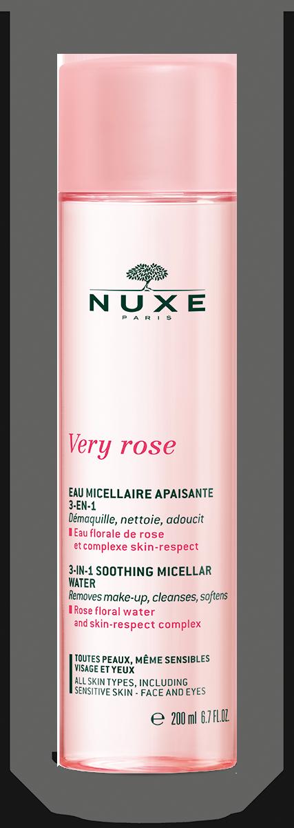 NUXE Very Rose Łagodząca woda micelarna 3-w-1 200ml