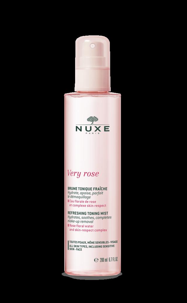 NUXE Very Rose Tonizująca mgiełka do twarzy 200ml
