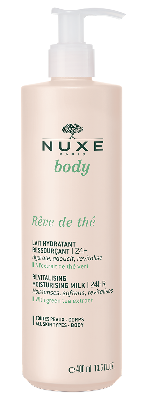 NUXE BODY Rêve de Thé Rewitalizujące mleczko nawilżające 400ml