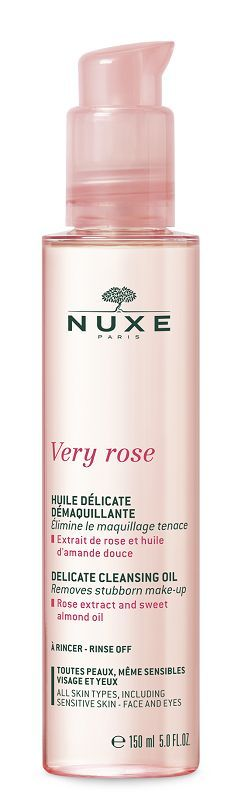NUXE Very Rose Delikatny olejek do demakijażu 150ml