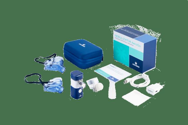 ADAMED Nebulizator AeroGo z modułem MP3