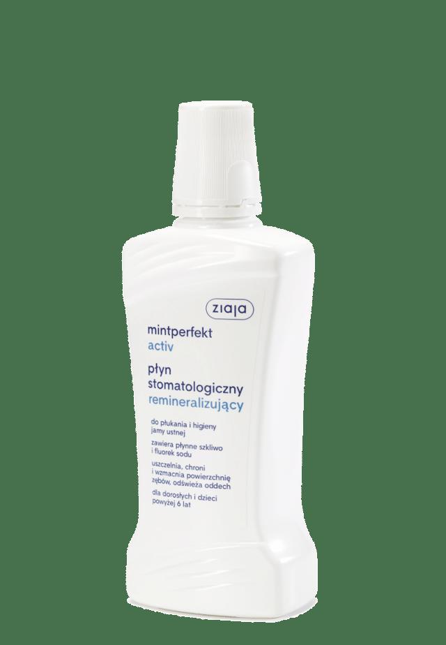ZIAJA MINTPERFEKT ACTIV Płyn stomatologiczny remineralizujący 500ml