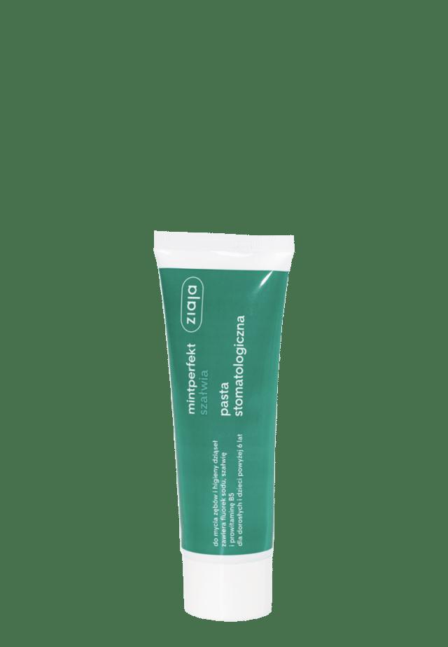 ZIAJA MINTPERFEKT ACTIV Pasta stomatologiczna z szałwią 75ml