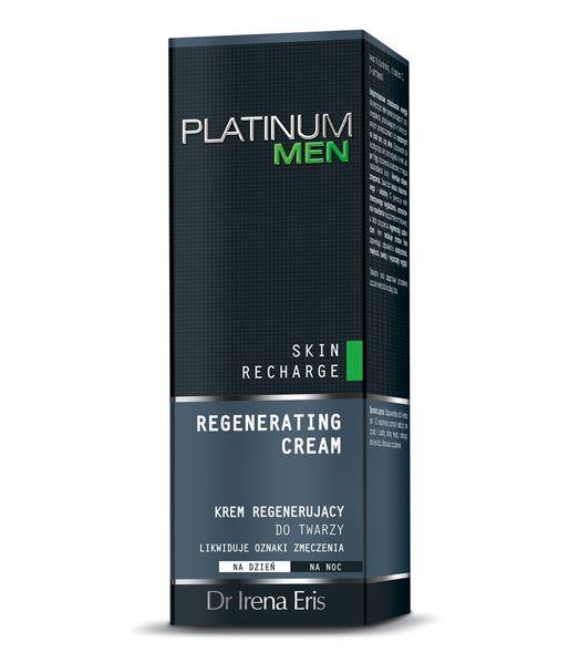 Dr Irena Eris Platinum Men Skin Recharge Krem Regenerujący Do Twarzy 50 ml