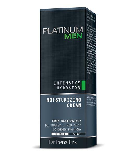 Dr Irena Eris Platinum Men Krem Nawilżający 24H Do Twarzy I Pod Oczy 50 ml
