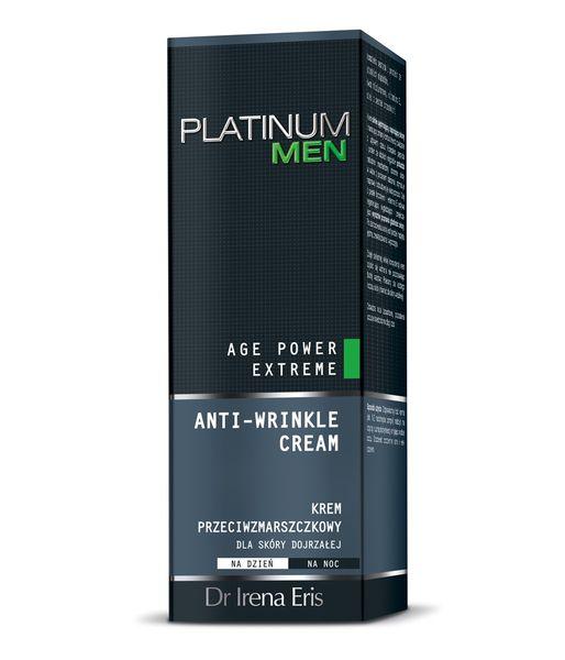 Dr Irena Eris Platinum Men Age Power Extreme Krem Przeciwzmarszczkowy Dla Skóry Dojrzałej 50 ml