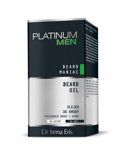 Dr Irena Eris Platinum Men Beard Maniac Olejek Do Brody 30 ml