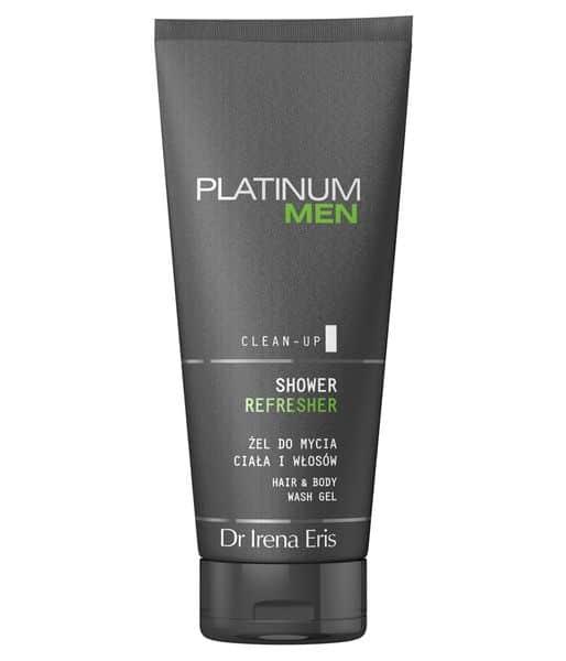 Dr Irena Eris Platinum Men Shower Refresher Oczyszczający Żel Do Ciała I Włosów 200 ml