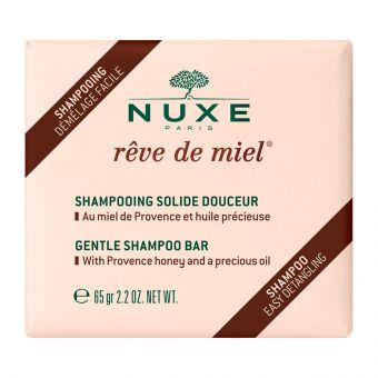 NUXE Delikatny szampon w kostce Rêve de Miel 65 G