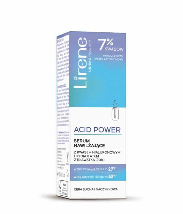 Lirene ACID POWER Serum nawilżające