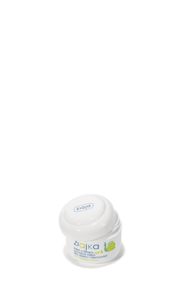 ZIAJA ZIAJKA Krem z filtrem SPF 6 ochrona niska dla dzieci i niemowląt